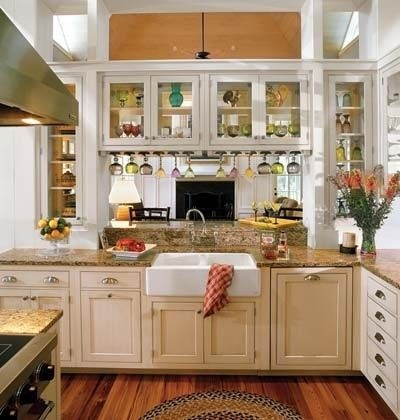 Farmhouse Sink in a Southern Kitchen