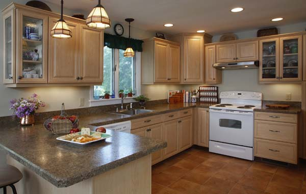 ... Refacing Hard Rock Maple Cabinets With Vintage Raised Panel Door And  Vintage Plain Panel Doors