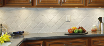 diamond pattern corian backsplash