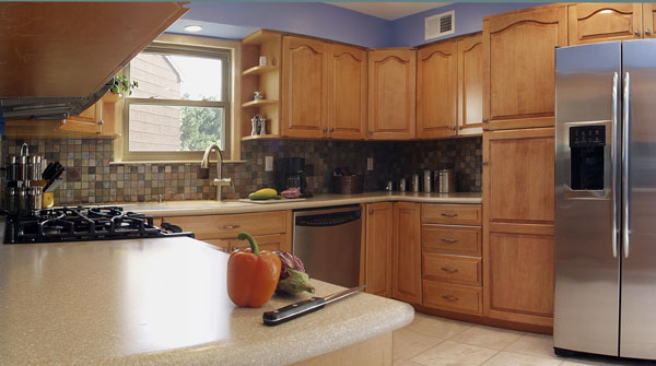 Should The Bottom Kitchen Cabinets Be The Same Style As