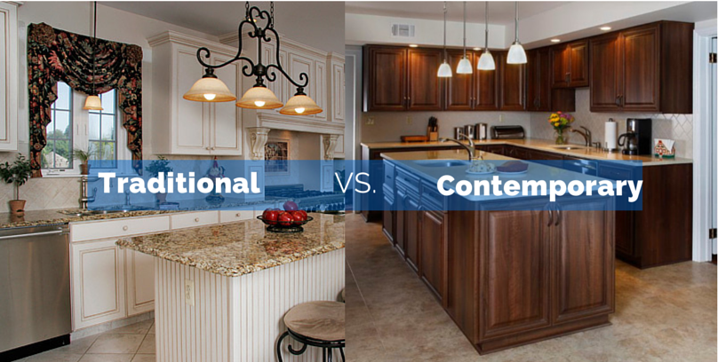 Contemporary Vs Traditional Kitchens