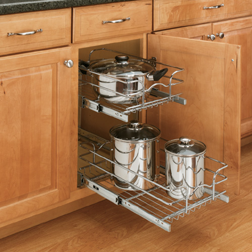 pull out rack kitchen shelving