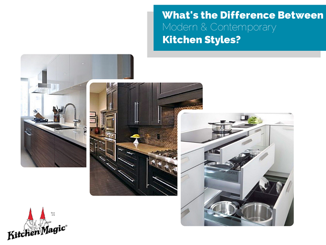 What S The Difference Between Modern And Contemporary Kitchen Styles