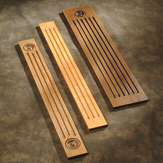 what is cabinet fluting