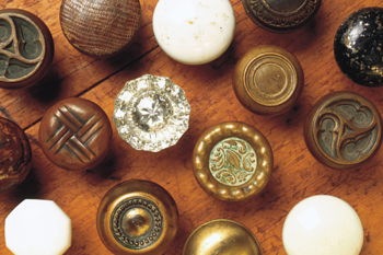 assorted hardware knobs