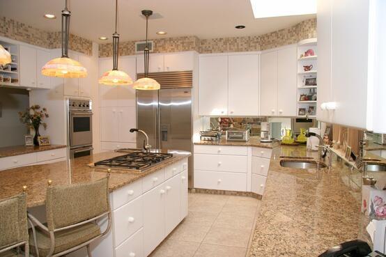 marvelous kitchens beige cabinets | White Kitchens: 4 Ways to Make White Cabinets Work