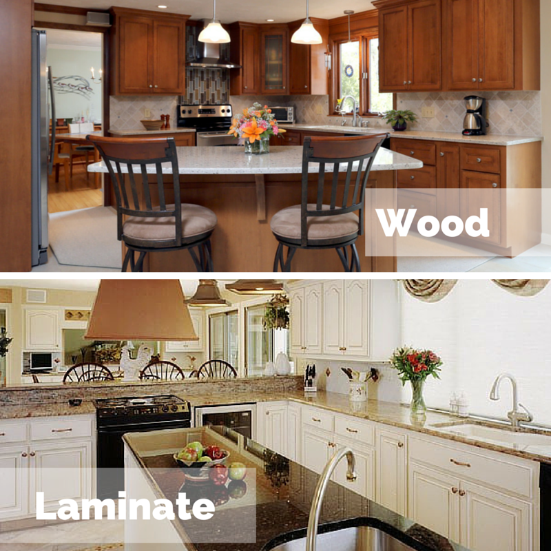 Which is better for cabinet refacing laminate or wood solutioingenieria Images