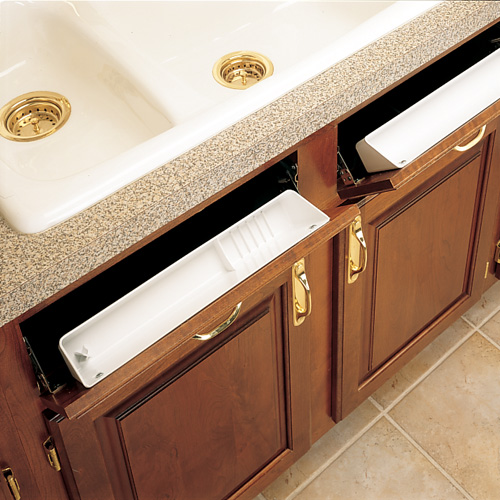 Kitchen Sink Tip Out Drawers