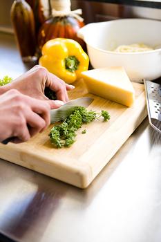 herbs-chopping