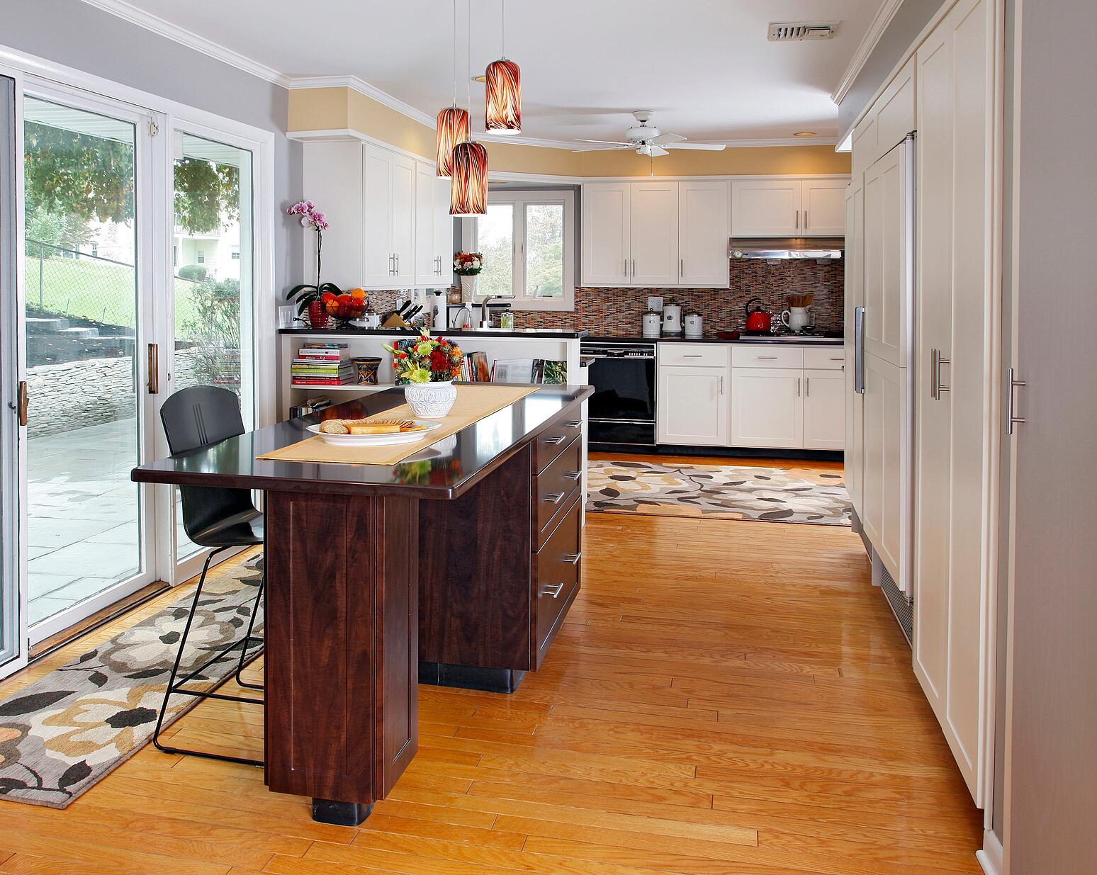 Kitchen Desk Standard Features Cabinet Message Centers