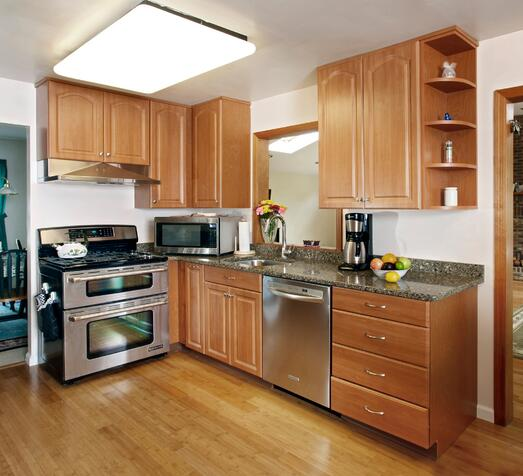 Kitchen Paint Colors With Cherry Cabinets: What Countertop Color Looks Best With Cherry Pear Cabinets?