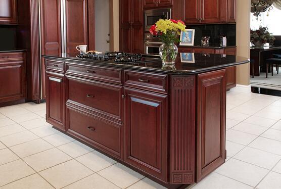 kitchen island layout