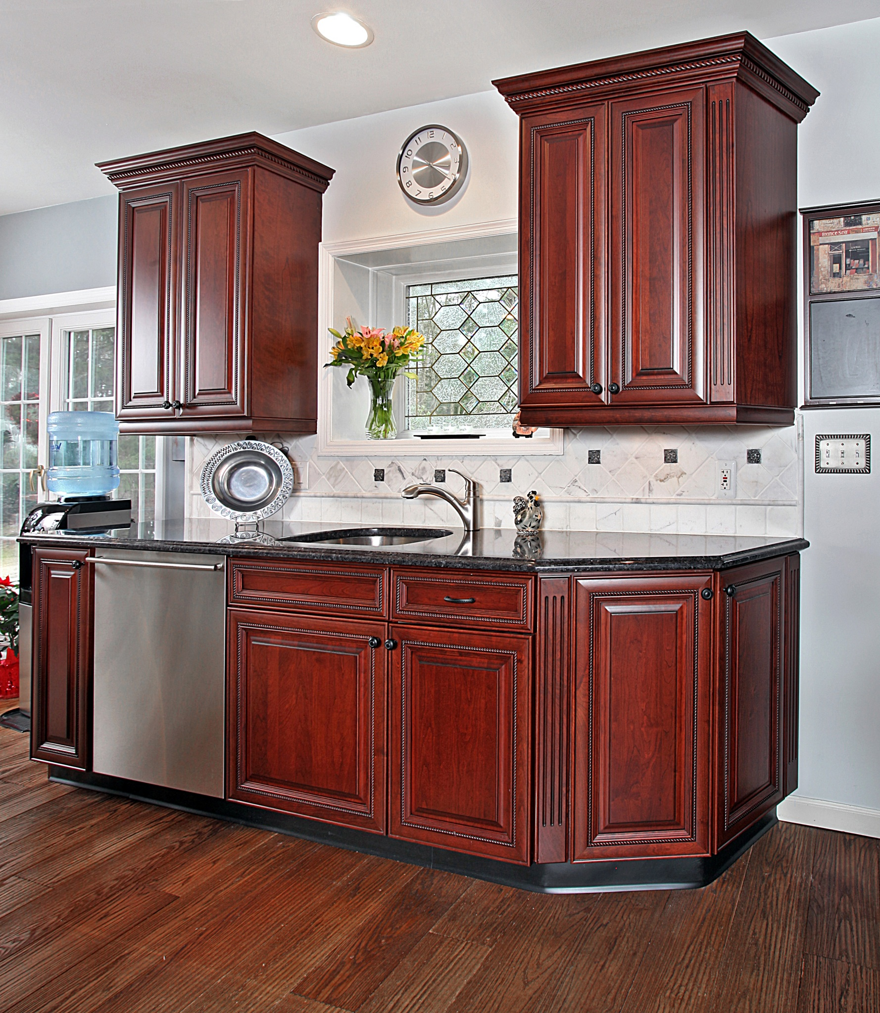Endless Options Wood Mode Cabinetry: What Are The Benefits Of Adding Step Shelves To A Kitchen?