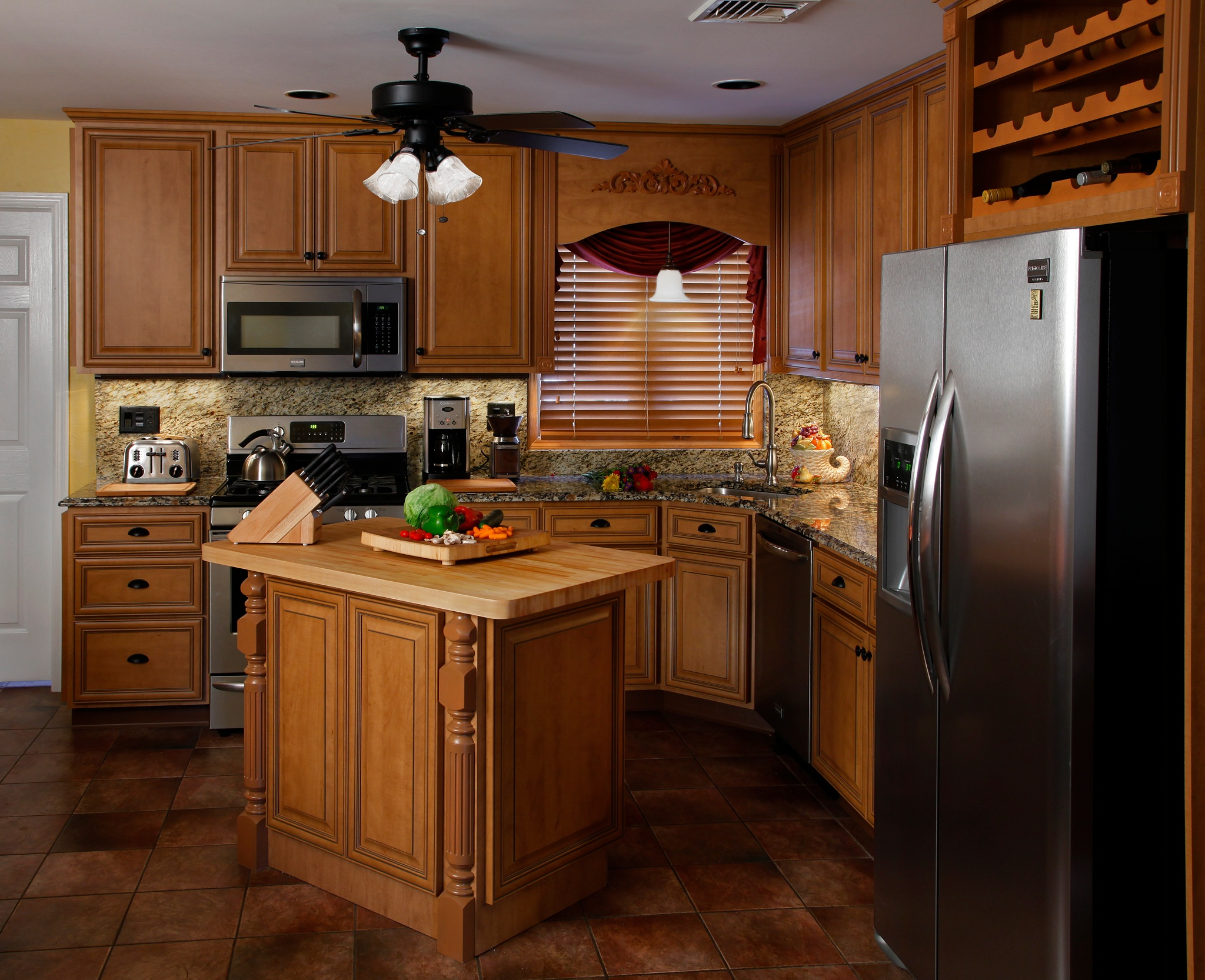 In Some Instances, Your Refaced Cabinets May Have A Finish That Makes It  Even Easier To Clean Than The Old Cabinets. Maple Kitchen