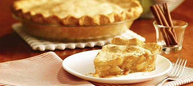 southern spiced apple pie