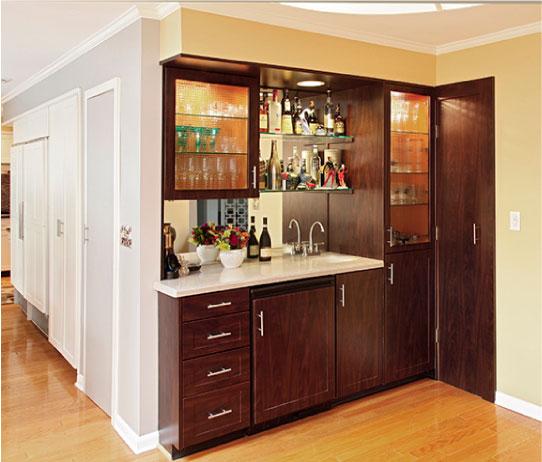 Modern Kitchen Butler's Bar