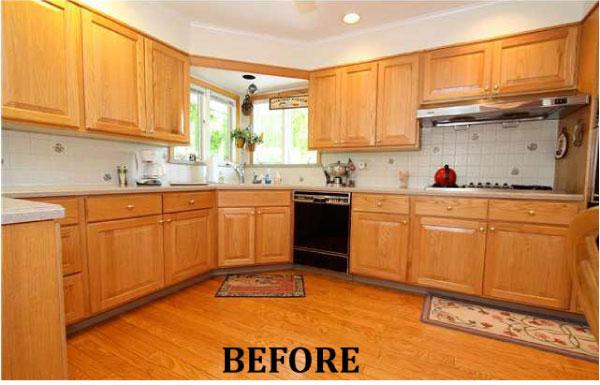 Modern Kitchen Before Transformation