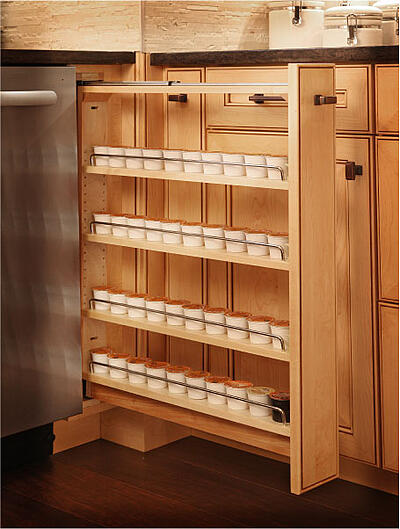 Organize your Kitchen with a Spice Rack