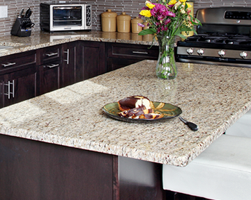 download this free countertop comparison chart and compare the features of solid surface quartz and granite at a glance  5 most popular granite countertop colors  rh   blog kitchenmagic com