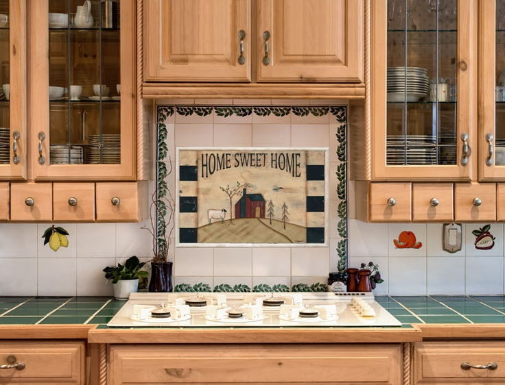 Interchangeable Backsplash