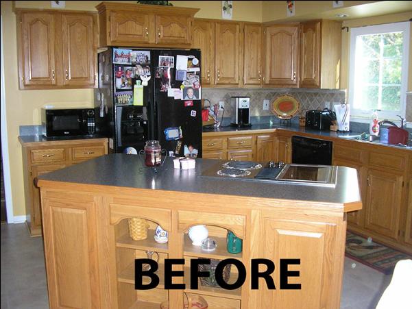 before kitchen transformation