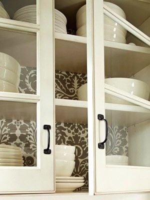 Line The Inside Of Your Cabinets With Scented Paper Contact