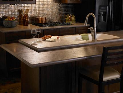 high definition laminate countertop