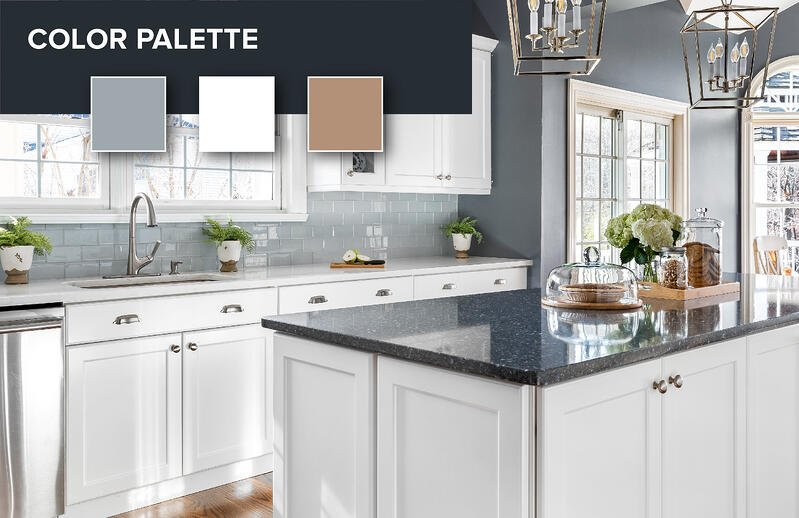 How To Match Your Countertops Cabinets And Floors