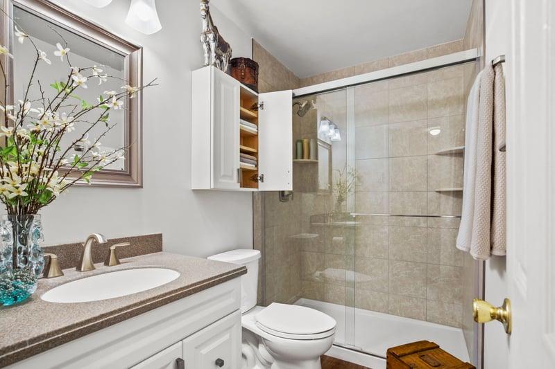 Elements Bathroom Remodel by Kitchen Magic