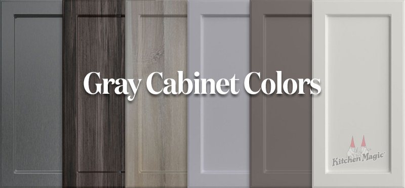 KM Gray Cabinet Colors