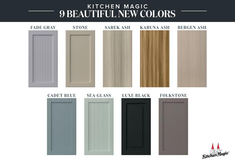 New Kitchen Cabinet Door Colors