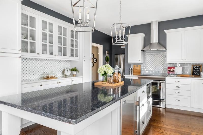 Küche Magic Quarz Arbeitsplatte