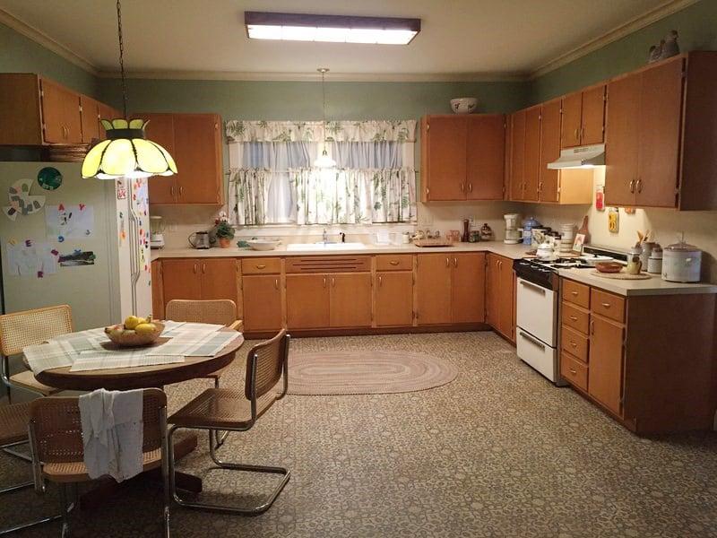 Randall Pearson childhood kitchen design