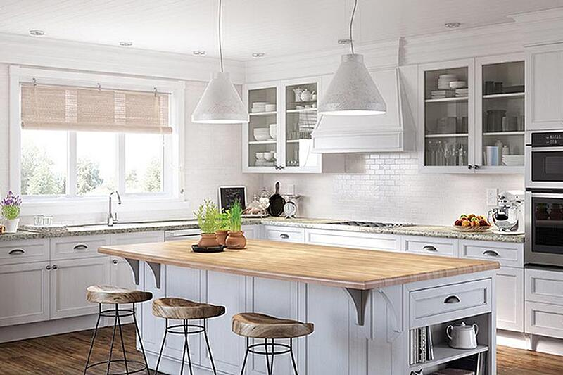 White Kitchen Cabinets With White Countertops White Kitchen Cabinets and Countertops: A Style Guide