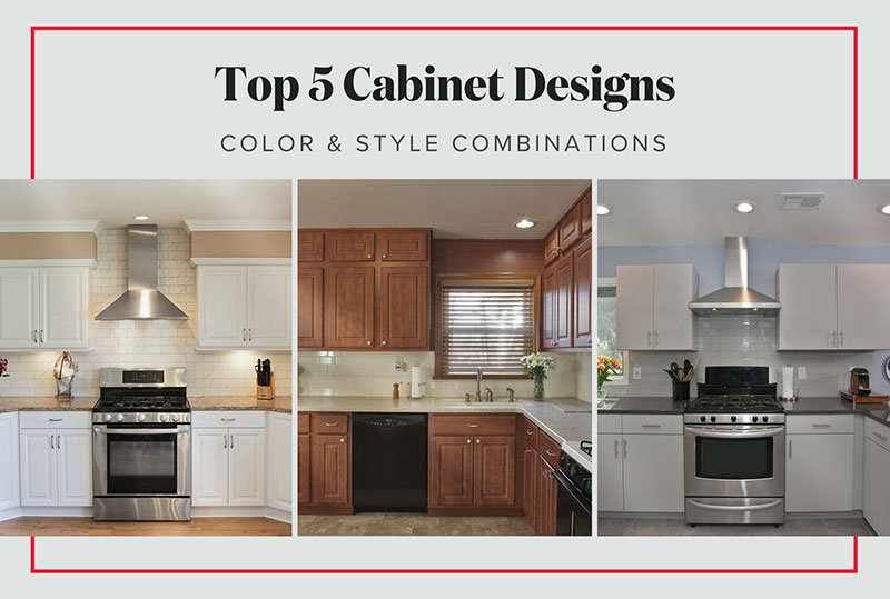 5 Most Por Kitchen Cabinet Designs Color Style