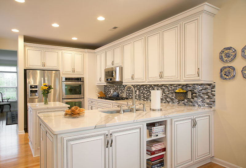 Kitchen After Refaced Cabinets