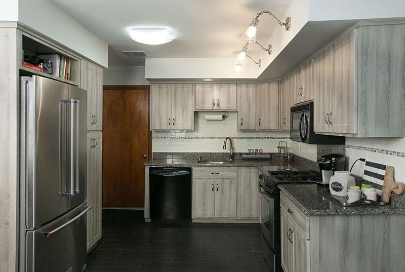 Cabinet Refacing Kitchen Remodel After