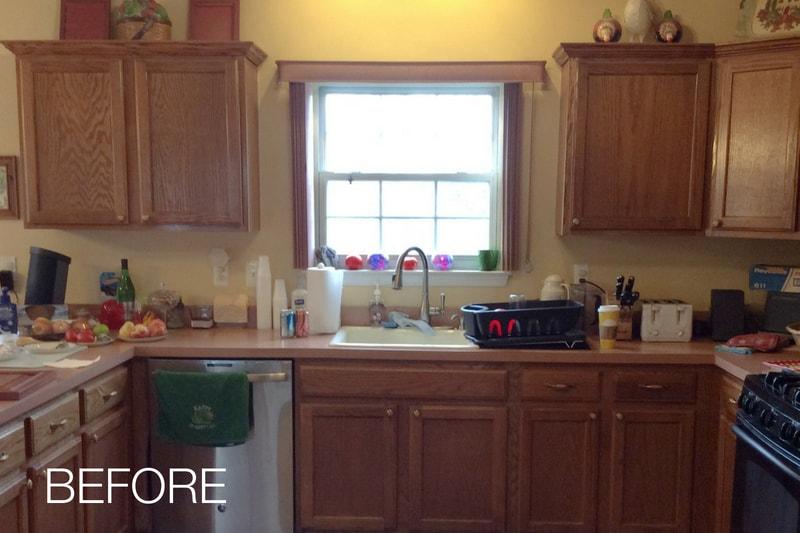 Kitchen Before Photo