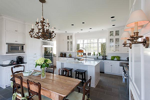 Farmhouse Kitchen with Antiques