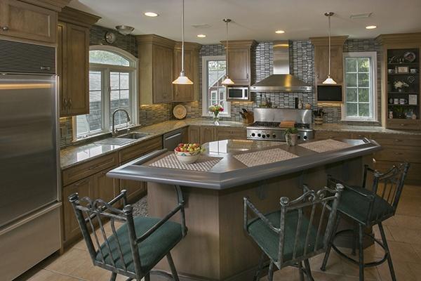 Portobello on Maple Kitchen