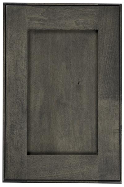 Drifwood Stain with Black Glaze