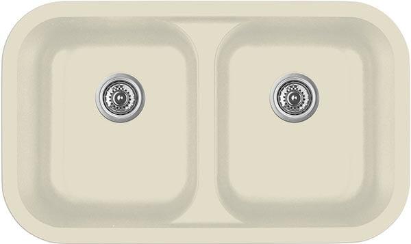 bisque quartz kitchen sink