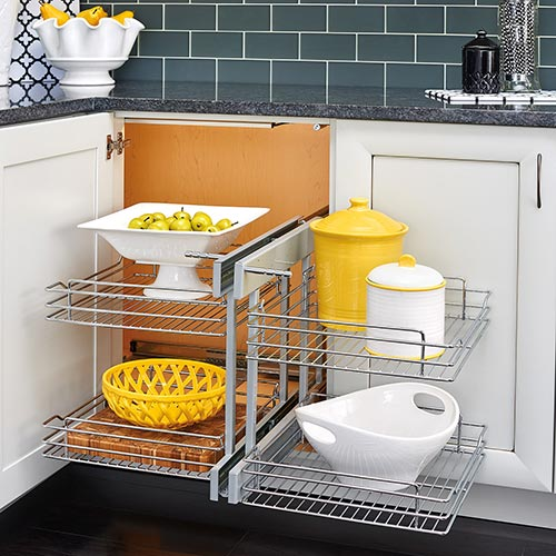 blind organizer kitchen storage
