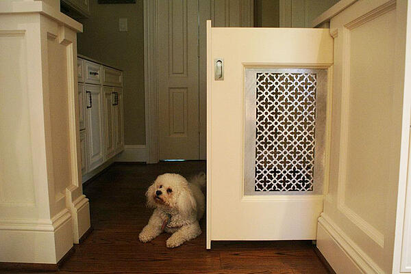 Built-In Dog Gate