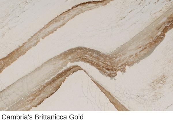 Cambria Design Brittanicca Gold