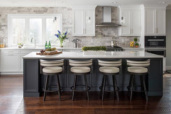 ceiling high tile kitchen backsplash