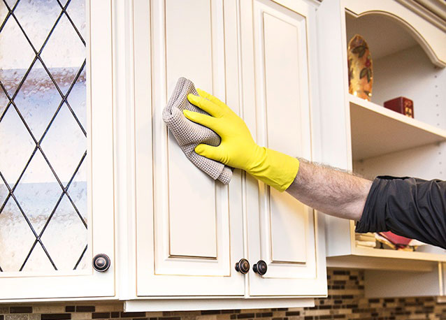 How to Clean Refaced Cabinets