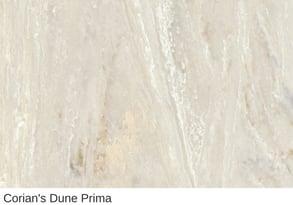 Corian in Dune Prima
