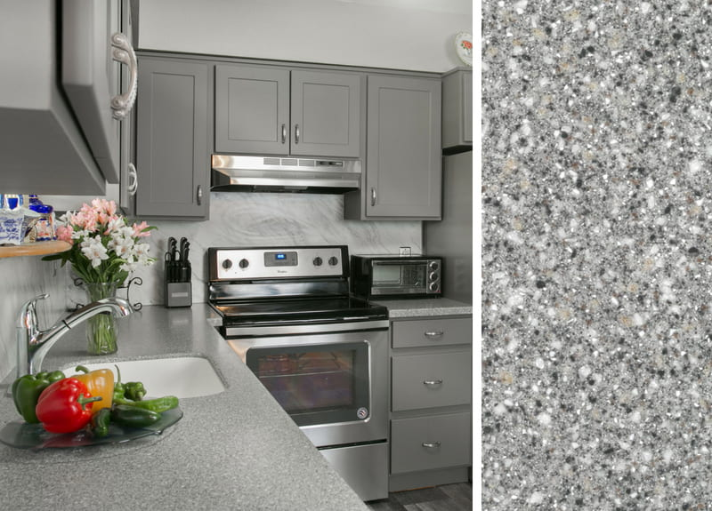 Countertops to pair with Gray Cabinets