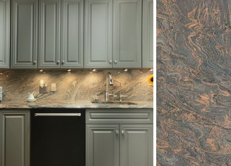 How To Pair Countertops With Gray Cabinets